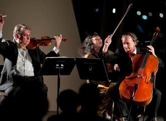 Philip Setzer, Wu Han and David Finckel