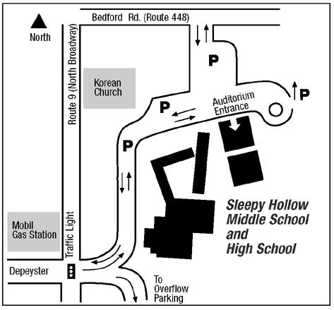 Map Sleepy Hollow High School campus